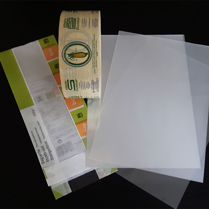 Biodegradable films produced by Plastic Suppliers /Sidaplax